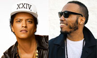 Bruno Mars with Anderson Paak